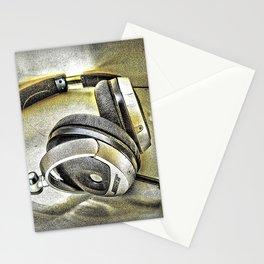 Headphones III Stationery Cards