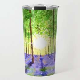 Bluebell woods Travel Mug