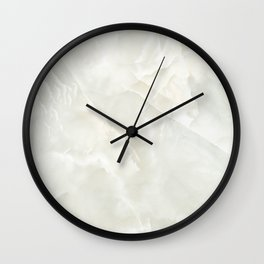 Cracked Crystal Marble Texture Wall Clock
