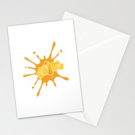 Mac n Cheese Spaghetti Pasta Design Mac and Cheese Gift Stationery Cards