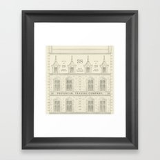 Provincial Trading Co's General Office Framed Art Print
