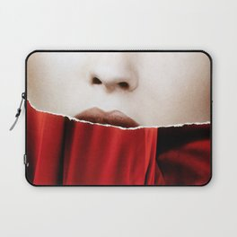 Ripped // Lips  Laptop Sleeve