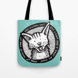 Mee-f'in-ow! Tote Bag