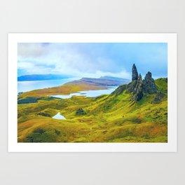 Isle of Skye, Scotland Art Print