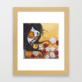 She Forgets Me Not Framed Art Print