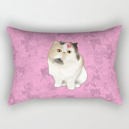 Cherry_the_flat_face_princess Rectangular Pillow
