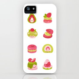 Strawberry Matcha iPhone Case