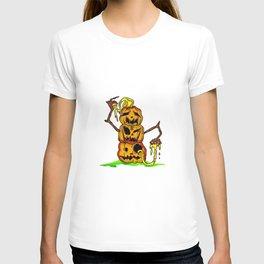Pumpkin stack T-shirt