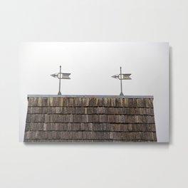 Roof Antennas Metal Print