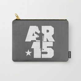 AR-15 (Gunmetal/White) Carry-All Pouch