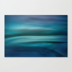 Blue Waves Canvas Print