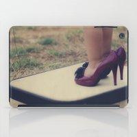 les mis iPad Cases featuring con mis tacones by Araceli Calabuig