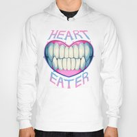 soul eater Hoodies featuring heart eater by Ginseng&Honey