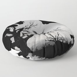 Wild Hunt Floor Pillow