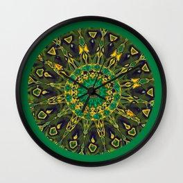 Colorful Mandala RQ Wall Clock