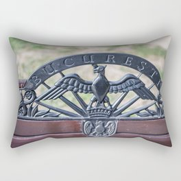 Rouamnia, Heroes Memorial, Bucarest Rectangular Pillow