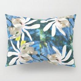 Twirl of Spring oversize Pillow Sham