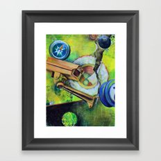 It's All About Circles Framed Art Print
