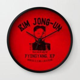 Kim Jung-Un University Wall Clock