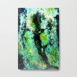 Viridescent Metal Print