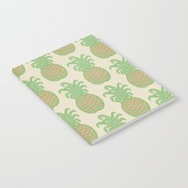 GOOD LUCK PINEAPPLES Notebook