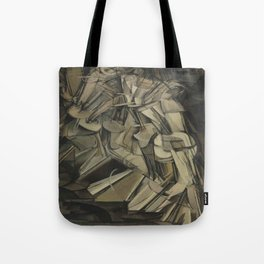 Marcel Duchamp's Nude Descending a Staircase, No. 2 Tote Bag