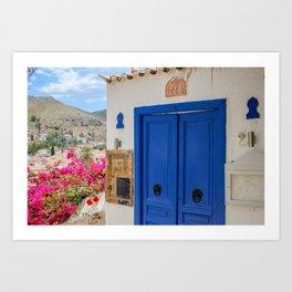 The Way to Greece VI Art Print