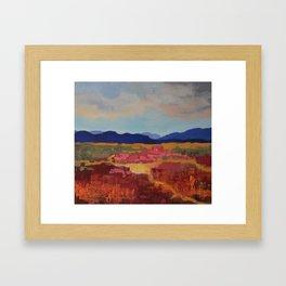 Scape 2 Framed Art Print