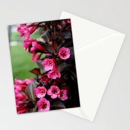 flower bells. Stationery Cards