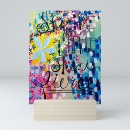 She Be but Little, She is Fierce Mini Art Print