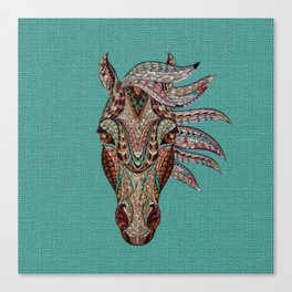 Southwest Horse Canvas Print
