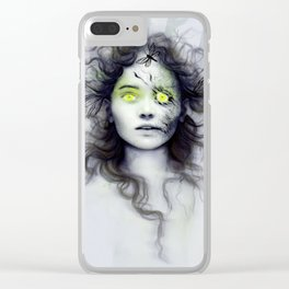 Undead Clear iPhone Case