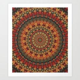 Mandala 563 Art Print