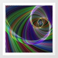 imagination Art Prints featuring Imagination by David Zydd