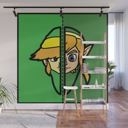 Old & New Link Comparison Wall Mural
