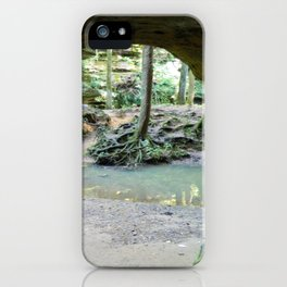 Cave View of Forest iPhone Case