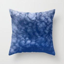 Scenic Blue Sky Throw Pillow