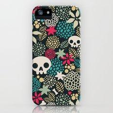 Skulls and flowers. iPhone (5, 5s) Slim Case