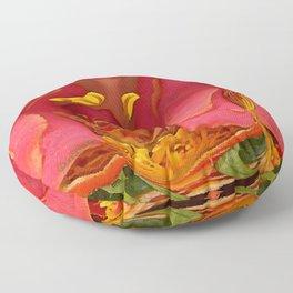 Rose Scramble Floor Pillow