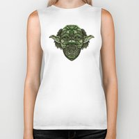 jedi Biker Tanks featuring Aztec Jedi master Yoda iPhone 4 4s 5 5c 6, pillow case, mugs and tshirt by Greenlight8