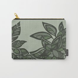 Let Love Grow - Mint Carry-All Pouch
