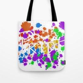 Painted pride Tote Bag