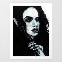 marceline Art Prints featuring Marceline by .Esz