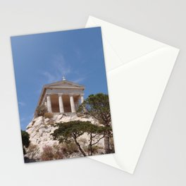 Roman Temple Near Marseille Stationery Cards