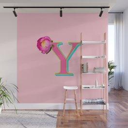 BOLD Y Wall Mural
