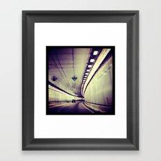 Tunnel Series- 3 Framed Art Print