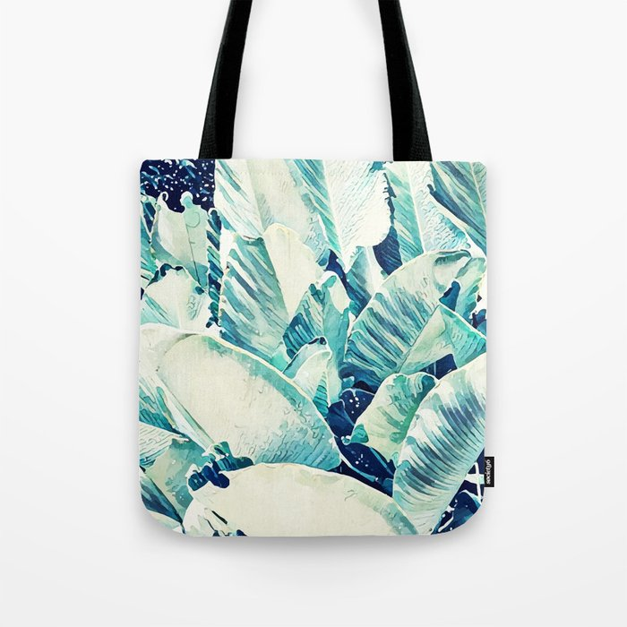 Banana Leaf Crush #society6 #decor #buyart Tote Bag