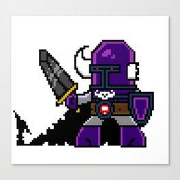 Dungeon Hordes Pixel Tiggz Canvas Print