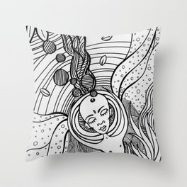 Cosmic Elevation Throw Pillow