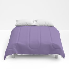 Solid Colors Series - Pale Blue Violet Comforters
